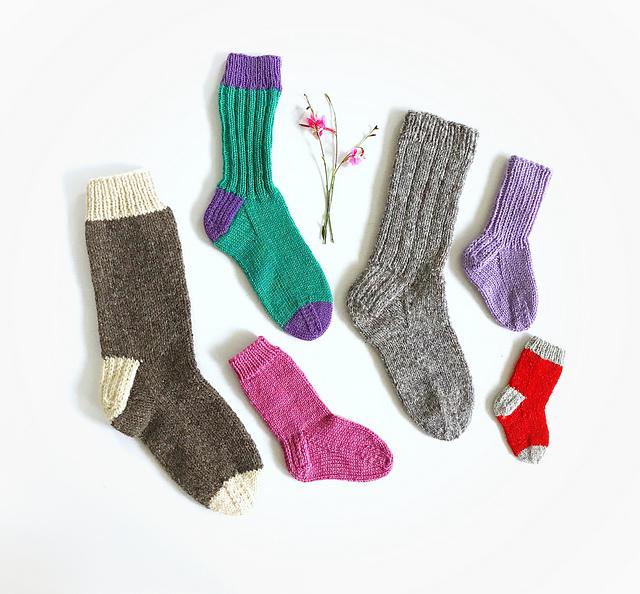 children/'s socks knitted
