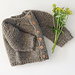 #32 Etta Cardigan- baby & child's top down sweater pattern