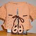 Peachy baby sweater pattern