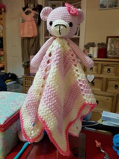 Quin the Bear Comforter Crochet Amigurumi Pattern | Etsy | 320x240