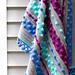 Bobble Stripe Baby Blanket pattern