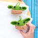Grogu Baby Yoda Ball Ornament pattern