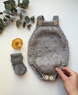 Kitikate Lena Knitted Romper/