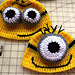 Inspired by Despicable Me  Beanies pattern