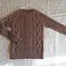 p.11 Tight Fit Aran Pullover pattern