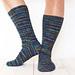 Oseberg Viking Socks pattern