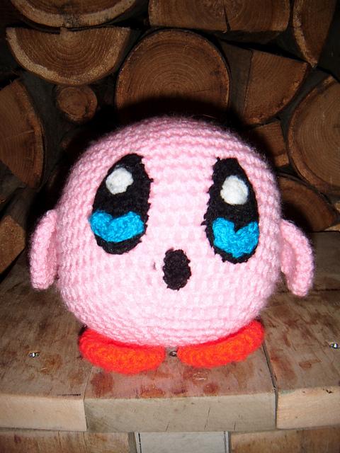damn it Janet, let's crochet!: Round Plush Kirby | 640x480