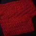 One skein scarf to crochet pattern