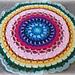 Large Daisy Centre Mandala pattern