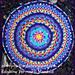 Rainbow Vermicelli Mandala pattern