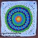 Happy Days Mandala Square pattern
