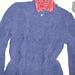 Fleece Diamond Pullover pattern